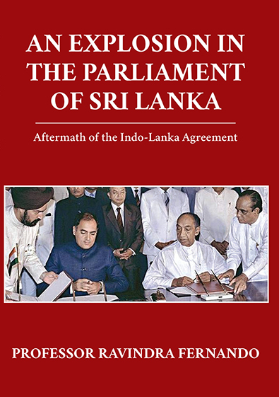 Explosion In The Parliament Of Sri Lanka